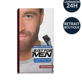coloration barbe chtain naturel 1800 - Coloration Barbe
