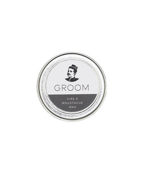 cire a moustache groom 2 - MAN ITSELF - Spécialiste des produits de soin visage, rasage, corps, cheveux, bouche, accessoires et idées cadeaux homme
