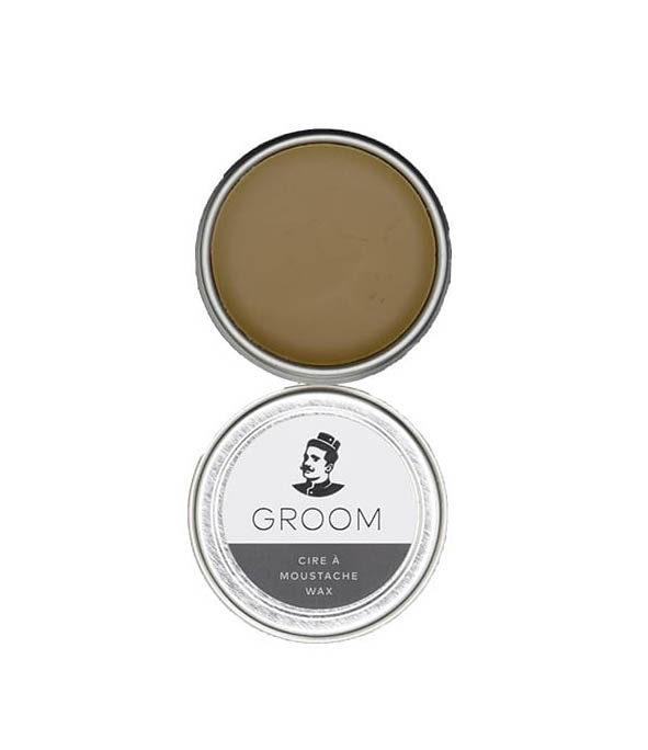 cire a moustache groom2 - MAN ITSELF - Spécialiste des produits de soin visage, rasage, corps, cheveux, bouche, accessoires et idées cadeaux homme