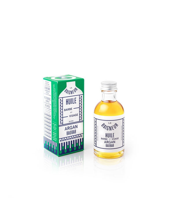 la baigneur huile barbe argan baobab 1 - MAN ITSELF - Spécialiste des produits de soin visage, rasage, corps, cheveux, bouche, accessoires et idées cadeaux homme