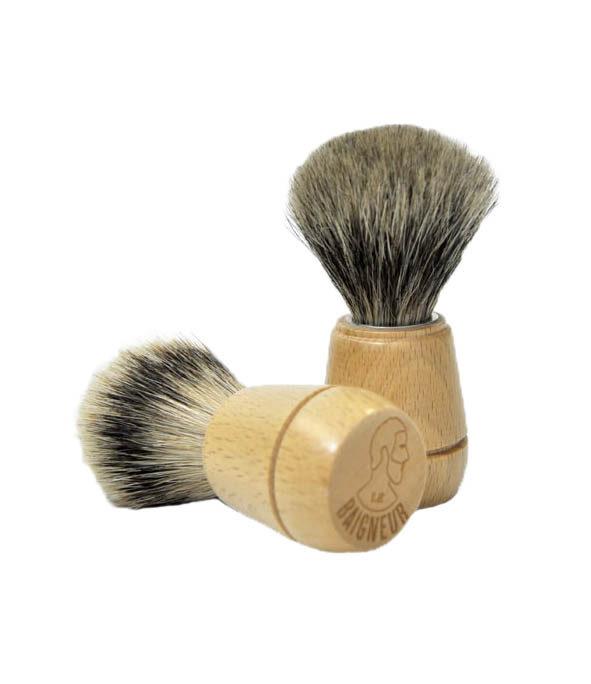 le baigneur blaireau2 - MAN ITSELF - Spécialiste des produits de soin visage, rasage, corps, cheveux, bouche, accessoires et idées cadeaux homme