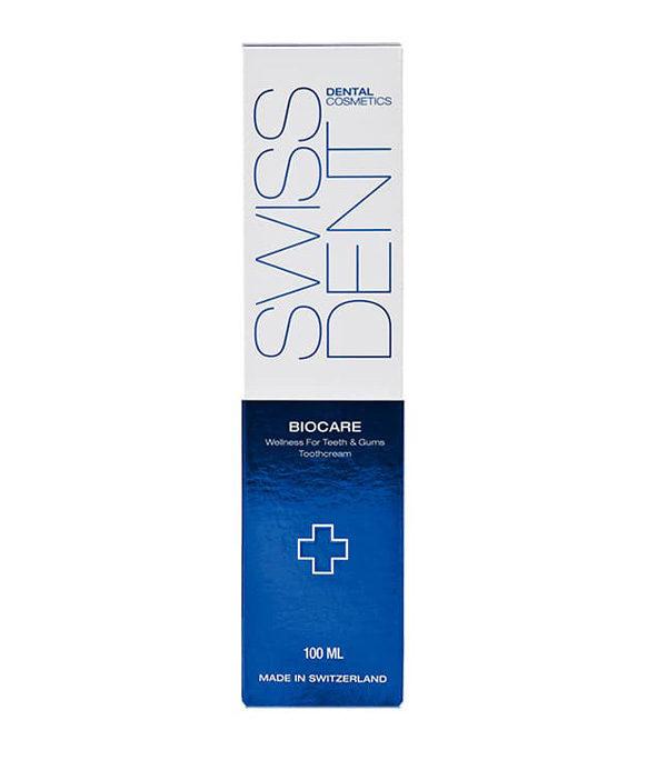 swissdent dentifrice biocare 2 - MAN ITSELF - Spécialiste des produits de soin visage, rasage, corps, cheveux, bouche, accessoires et idées cadeaux homme