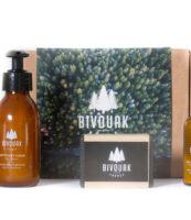 Coffret soins Visage BIVOUAK - MAN ITSELF - Spécialiste des produits de soin visage, rasage, corps, cheveux, bouche, accessoires et idées cadeaux homme