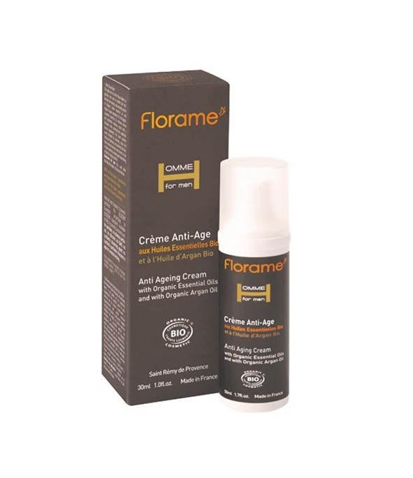 florame creme anti age 1 - MAN ITSELF - Spécialiste des produits de soin visage, rasage, corps, cheveux, bouche, accessoires et idées cadeaux homme