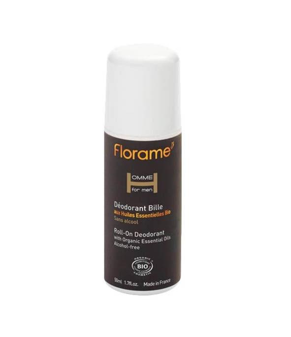 florame deodorant bille 1 - MAN ITSELF - Spécialiste des produits de soin visage, rasage, corps, cheveux, bouche, accessoires et idées cadeaux homme
