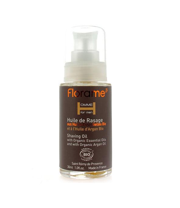 florame huile rasage 1 - MAN ITSELF - Spécialiste des produits de soin visage, rasage, corps, cheveux, bouche, accessoires et idées cadeaux homme