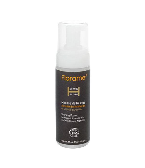 florame mousse rasage - MAN ITSELF - Spécialiste des produits de soin visage, rasage, corps, cheveux, bouche, accessoires et idées cadeaux homme