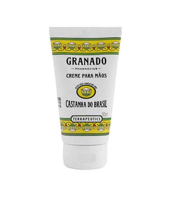granado creme mains castanha - MAN ITSELF - Spécialiste des produits de soin visage, rasage, corps, cheveux, bouche, accessoires et idées cadeaux homme