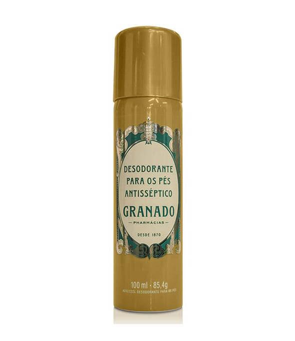 granado deodorant pieds 1 - MAN ITSELF - Spécialiste des produits de soin visage, rasage, corps, cheveux, bouche, accessoires et idées cadeaux homme