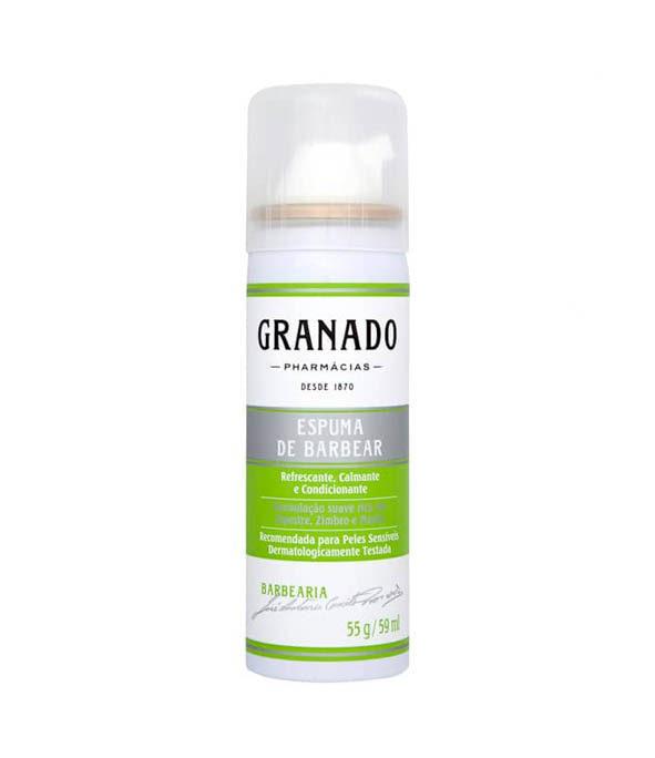 granado mousse a raser - MAN ITSELF - Spécialiste des produits de soin visage, rasage, corps, cheveux, bouche, accessoires et idées cadeaux homme