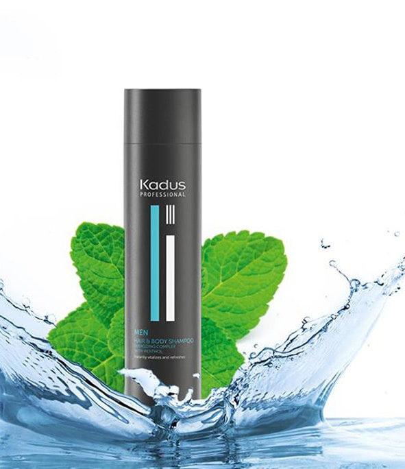 kadus hair and body shampoo 2 - MAN ITSELF - Spécialiste des produits de soin visage, rasage, corps, cheveux, bouche, accessoires et idées cadeaux homme