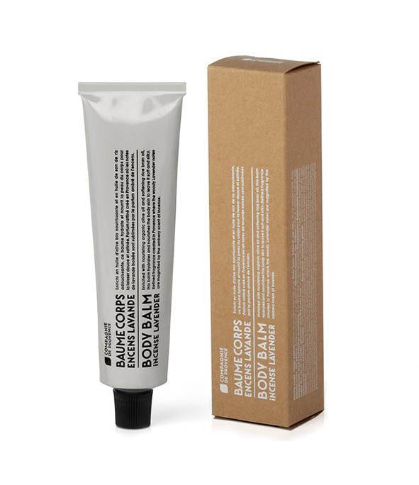 la compagnie de provence baume corps encens lavande 1 - MAN ITSELF - Spécialiste des produits de soin visage, rasage, corps, cheveux, bouche, accessoires et idées cadeaux homme