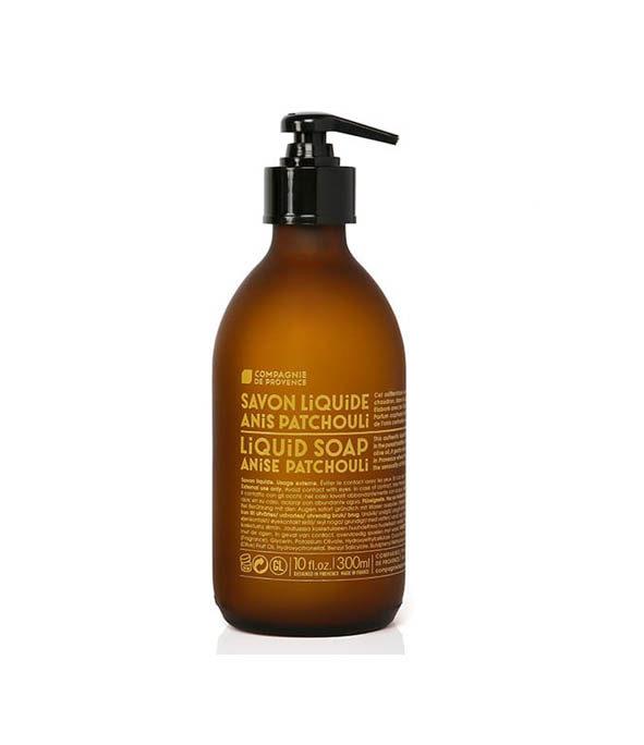 la compagnie de provence savon liquide anis patchouli 1 - MAN ITSELF - Spécialiste des produits de soin visage, rasage, corps, cheveux, bouche, accessoires et idées cadeaux homme