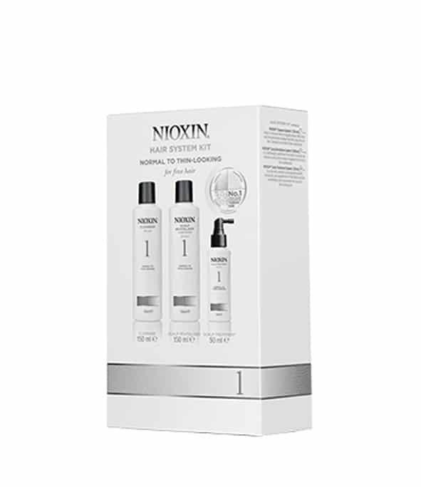 nioxin kit soin 1 3 - MAN ITSELF - Spécialiste des produits de soin visage, rasage, corps, cheveux, bouche, accessoires et idées cadeaux homme