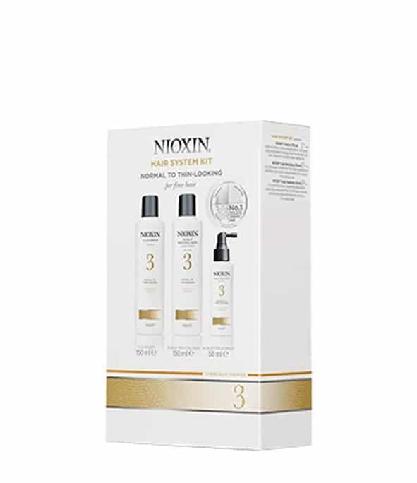 nioxin kit soin 3 3 - MAN ITSELF - Spécialiste des produits de soin visage, rasage, corps, cheveux, bouche, accessoires et idées cadeaux homme
