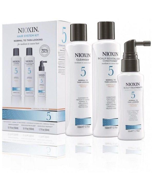 nioxin kit soin 5 2 - MAN ITSELF - Spécialiste des produits de soin visage, rasage, corps, cheveux, bouche, accessoires et idées cadeaux homme