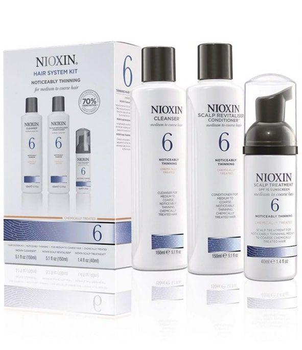 nioxin kit soin 6 2 - MAN ITSELF - Spécialiste des produits de soin visage, rasage, corps, cheveux, bouche, accessoires et idées cadeaux homme