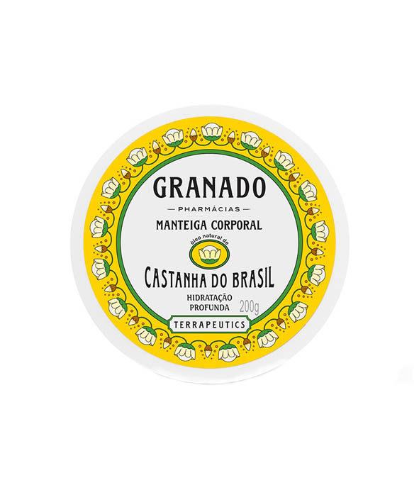 granado beurre hydratant castanha - MAN ITSELF - Spécialiste des produits de soin visage, rasage, corps, cheveux, bouche, accessoires et idées cadeaux homme