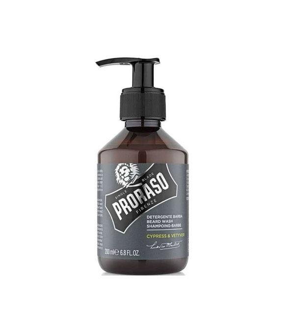 proraso shampoing barbe cypres vetiver - MAN ITSELF - Spécialiste des produits de soin visage, rasage, corps, cheveux, bouche, accessoires et idées cadeaux homme