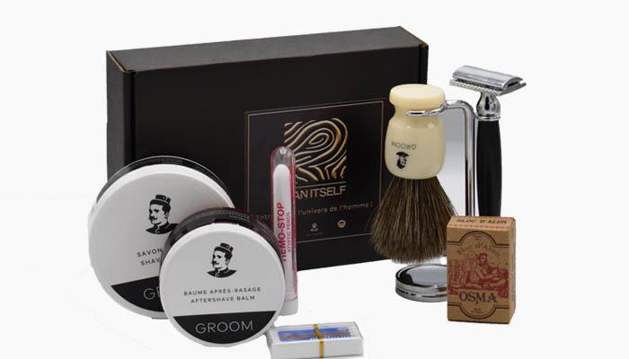 au rasage parfait petit ferme - MAN ITSELF - Spécialiste des produits de soin visage, rasage, corps, cheveux, bouche, accessoires et idées cadeaux homme