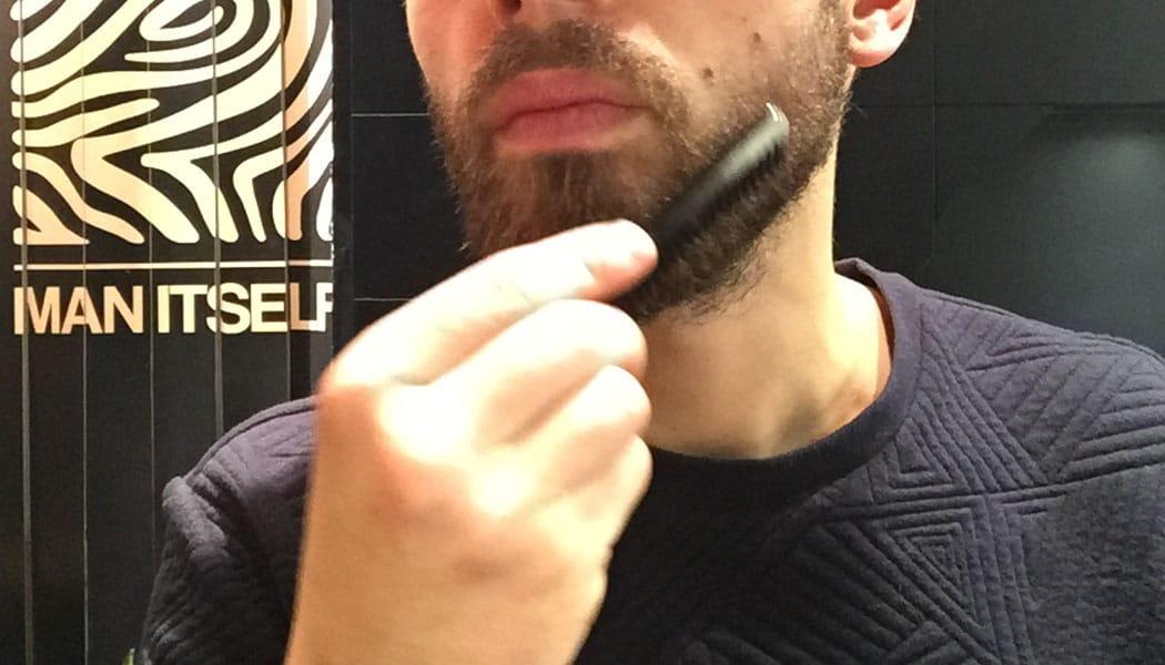 l'huile à barbe