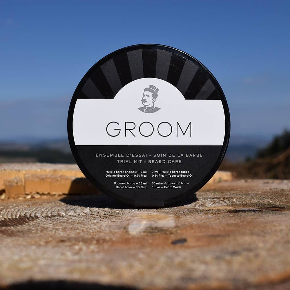 ensemble dessai barbe groom