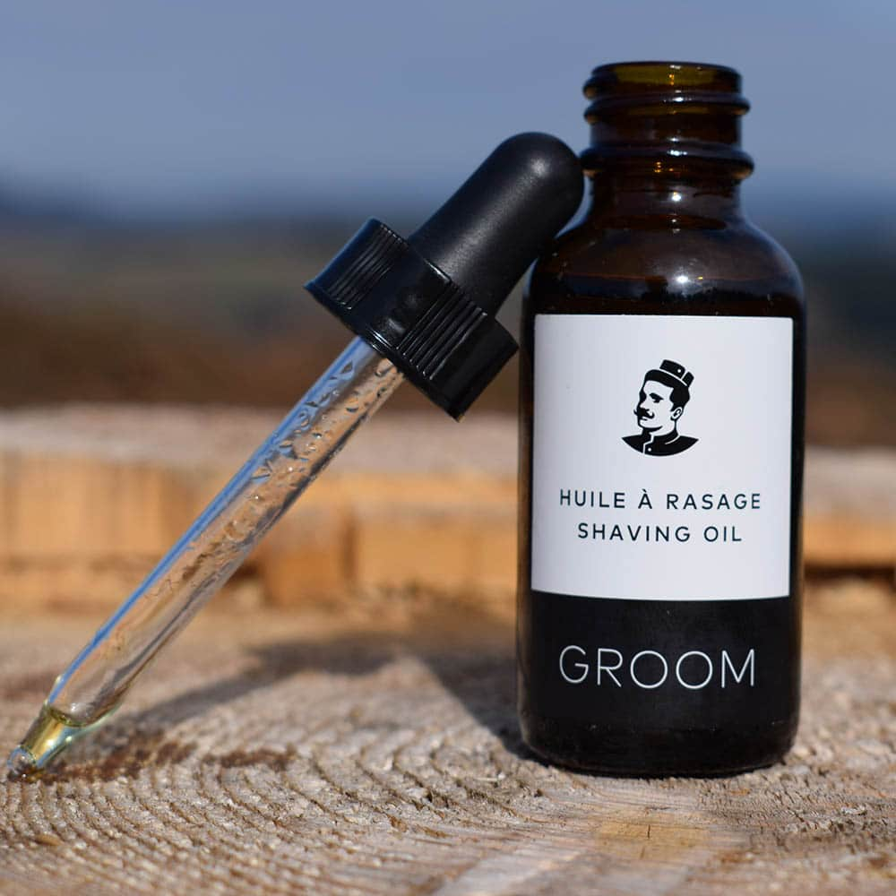 huile à raser groom
