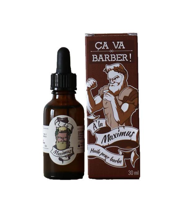 huile barbe maximus ca va barber - MAN ITSELF - Spécialiste des produits de soin visage, rasage, corps, cheveux, bouche, accessoires et idées cadeaux homme