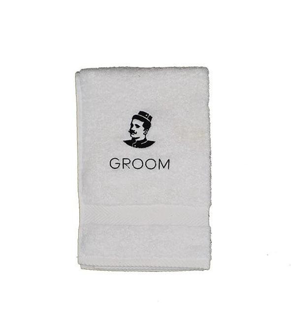 serviette de rasage groom 2 - MAN ITSELF - Spécialiste des produits de soin visage, rasage, corps, cheveux, bouche, accessoires et idées cadeaux homme