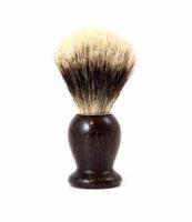Blaireau bois Palissandre Blanc Europeen - MAN ITSELF - Spécialiste des produits de soin visage, rasage, corps, cheveux, bouche, accessoires et idées cadeaux homme