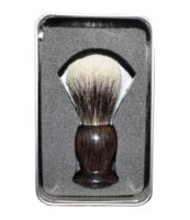 blaireau bois palissandre blanc europeen2 - MAN ITSELF - Spécialiste des produits de soin visage, rasage, corps, cheveux, bouche, accessoires et idées cadeaux homme