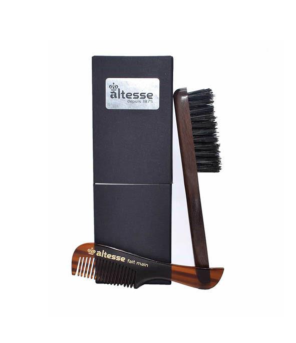 coffret barbe moustache altesse - MAN ITSELF - Spécialiste des produits de soin visage, rasage, corps, cheveux, bouche, accessoires et idées cadeaux homme