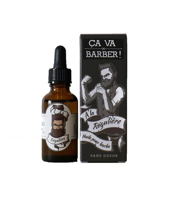 huile barbe reguliere ca va barber - MAN ITSELF - Spécialiste des produits de soin visage, rasage, corps, cheveux, bouche, accessoires et idées cadeaux homme