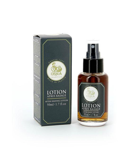 lotion apres rasage osma 2 - MAN ITSELF - Spécialiste des produits de soin visage, rasage, corps, cheveux, bouche, accessoires et idées cadeaux homme