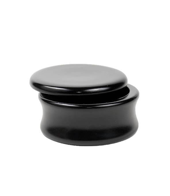 bol a raser bois de mangue noir parker - MAN ITSELF - Spécialiste des produits de soin visage, rasage, corps, cheveux, bouche, accessoires et idées cadeaux homme
