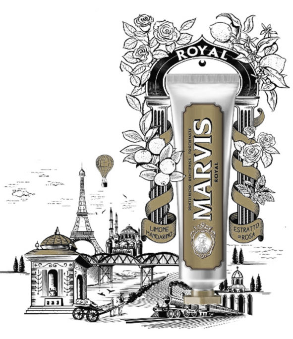 """Dentifrice """"Royal"""" – MARVIS"""
