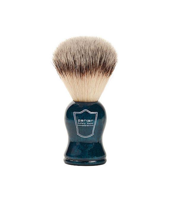 parker blaireau vegan bleu 1 - MAN ITSELF - Spécialiste des produits de soin visage, rasage, corps, cheveux, bouche, accessoires et idées cadeaux homme