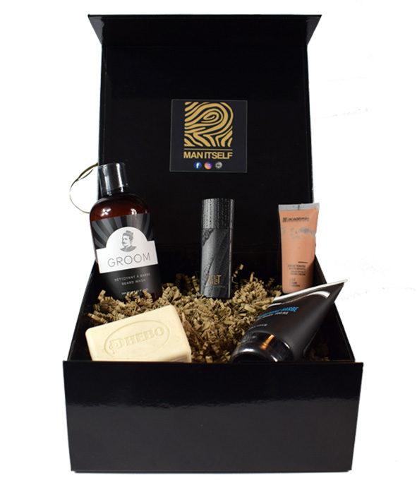 coffret cadeau vierge 2 - MAN ITSELF - Spécialiste des produits de soin visage, rasage, corps, cheveux, bouche, accessoires et idées cadeaux homme