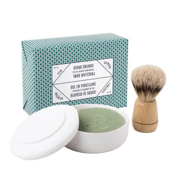 Le Baigneur coffret rasage n1 - MAN ITSELF - Spécialiste des produits de soin visage, rasage, corps, cheveux, bouche, accessoires et idées cadeaux homme
