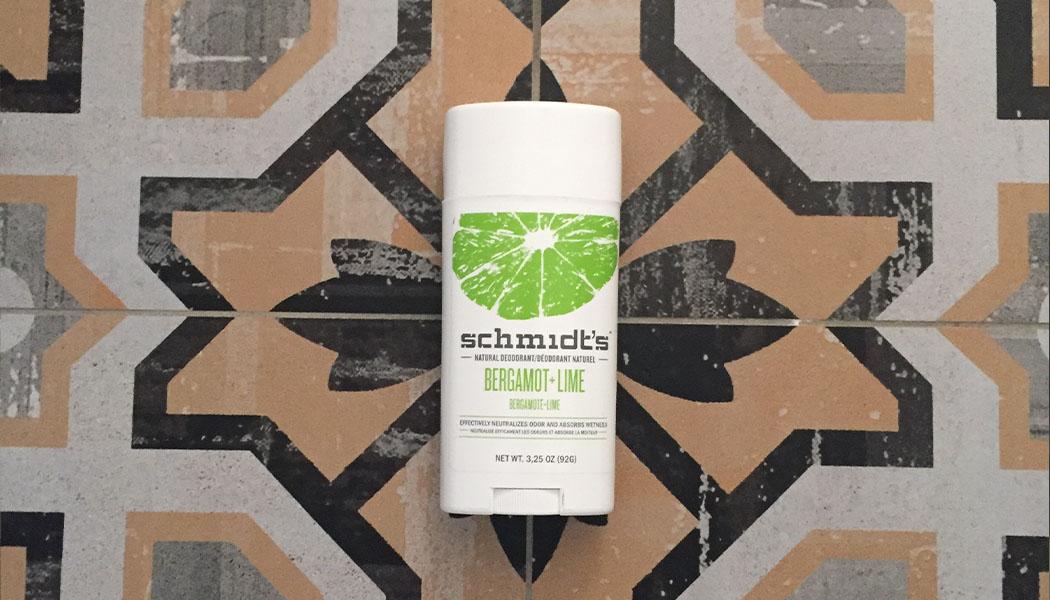 déodorant schmidt's naturel