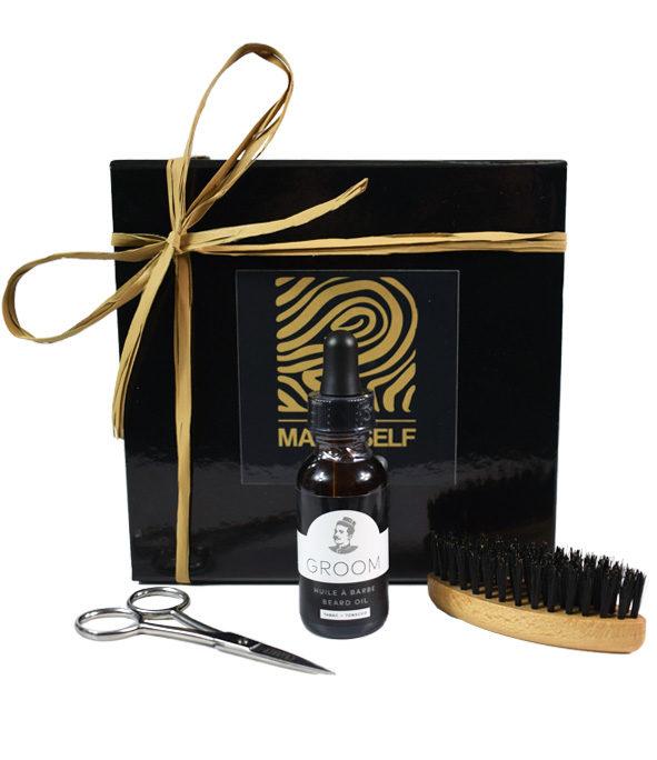 Coffret–barbe avec style - MAN ITSELF - Spécialiste des produits de soin visage, rasage, corps, cheveux, bouche, accessoires et idées cadeaux homme