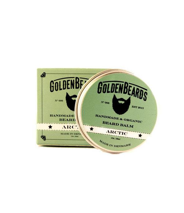 baume a barbe arctic golden beards 30ml - MAN ITSELF - Spécialiste des produits de soin visage, rasage, corps, cheveux, bouche, accessoires et idées cadeaux homme