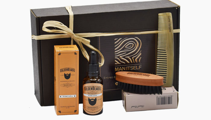 coffret barbe trio homme manitself