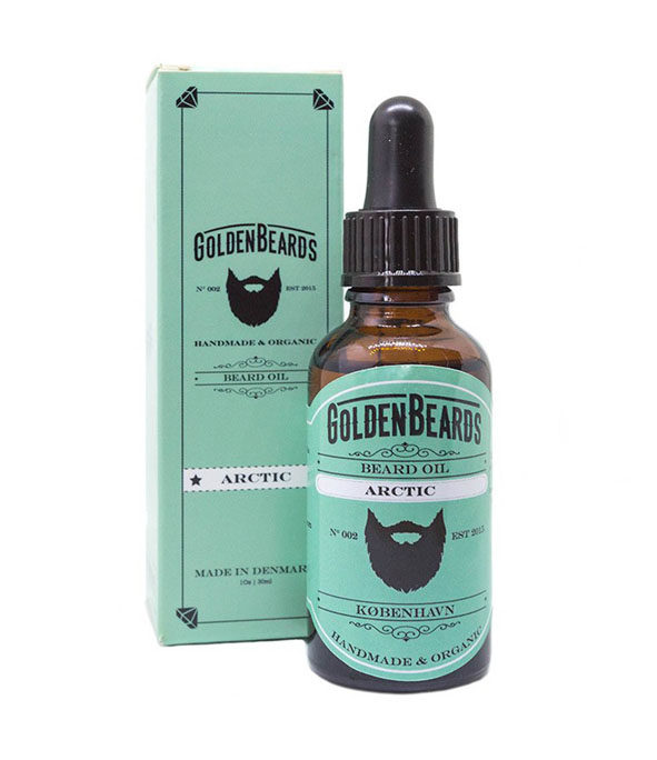 Huile à barbe Artic 30 ml – GOLDEN BEARDS