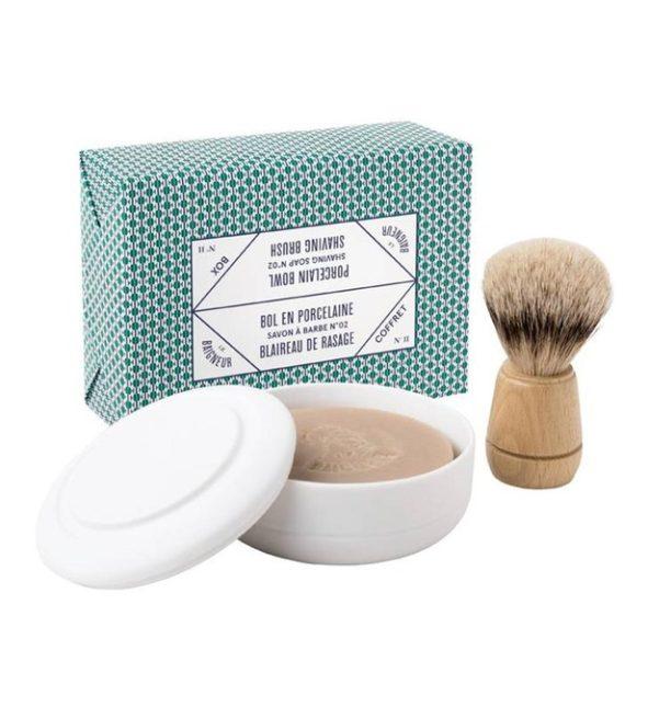 le baigneur coffret rasage n2 1 - MAN ITSELF - Spécialiste des produits de soin visage, rasage, corps, cheveux, bouche, accessoires et idées cadeaux homme