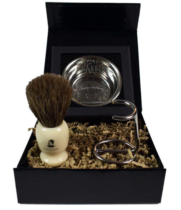 Coffret–Blaireau rasage Bol 2 - MAN ITSELF - Spécialiste des produits de soin visage, rasage, corps, cheveux, bouche, accessoires et idées cadeaux homme