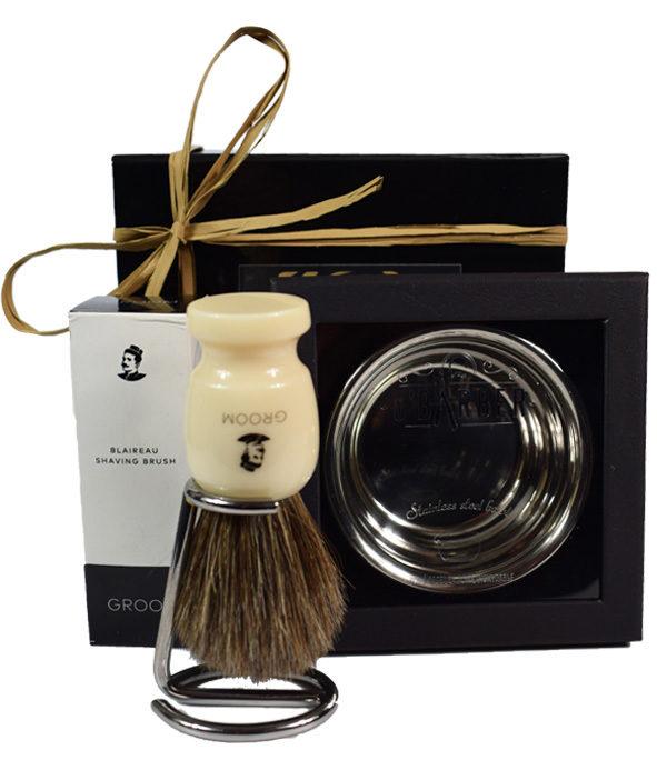 Coffret–Blaireau rasage Bol - MAN ITSELF - Spécialiste des produits de soin visage, rasage, corps, cheveux, bouche, accessoires et idées cadeaux homme