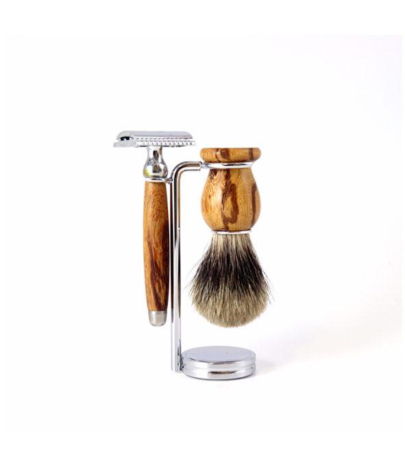 Coffret 3p en bois de serpent - MAN ITSELF - Spécialiste des produits de soin visage, rasage, corps, cheveux, bouche, accessoires et idées cadeaux homme