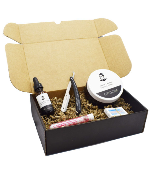 coffret rasage naturel