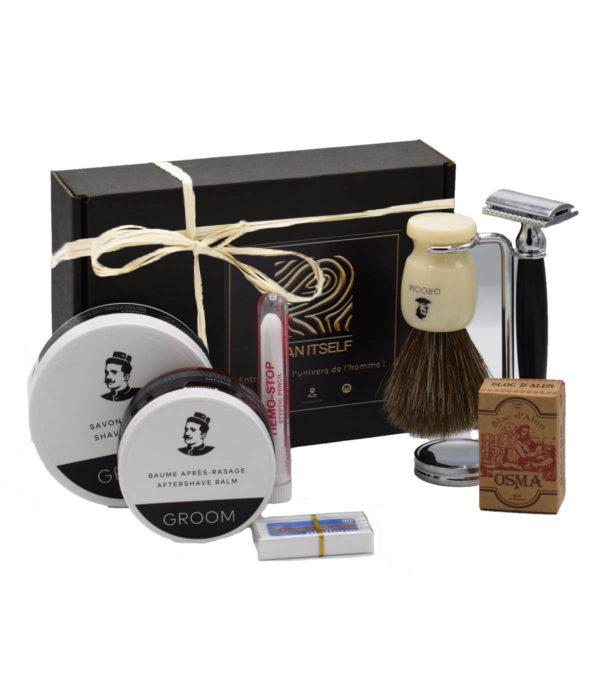 Au rasage parfait - MAN ITSELF - Spécialiste des produits de soin visage, rasage, corps, cheveux, bouche, accessoires et idées cadeaux homme
